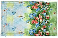 Шерстяное стеганое одеяло 172х205 облегченное (сатин)