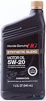 "Honda 087989032 Масло моторное полусинтетическое Honda ""Synthetic Blend 5W-20"", 1л"