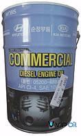 """Hyundai/Kia 0520048BA0 Масло моторное полусинтетическое Hyundai """"Commercial Diesel 10W-40"""", 20л"""