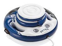 Плавающий термо-резервуар для напитков Intex, холодильник на воде , фото 1