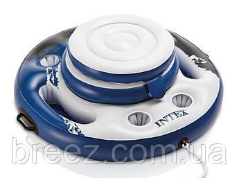 Плавающий термо-резервуар для напитков Intex, холодильник на воде , фото 2