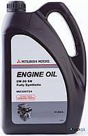 """Mitsubishi MZ320724 Масло моторное синтетическое """"Mitsubishi Engine Oil 0W-20"""", 4л"""