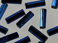 Стеклярус Preciosa Чехия №67100, темный синий