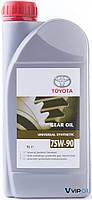 Toyota 0888580606 Масло трансмиссионное TOYOTA 75W-90 , 1л