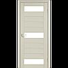 Дверь межкомнатная PORTO дуб беленый сатин бронза