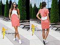 Платье. Ткань -  кукуруза. Размер С и М. (21361)