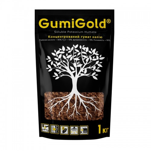 """Гумат калия """"Gumi Gold"""", 1кг."""