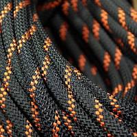 Веревка статика Tendon Static 48 11mm черно-красная