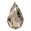 Хрустальные подвески 681 Preciosa (Чехия)  6х10 мм, Crystal Clarite
