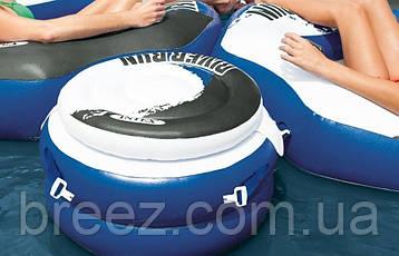 Плавающий термо-резервуар для напитков Intex, холодильник на воде, фото 2