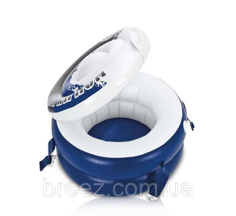 Плавающий термо-резервуар для напитков Intex, холодильник на воде