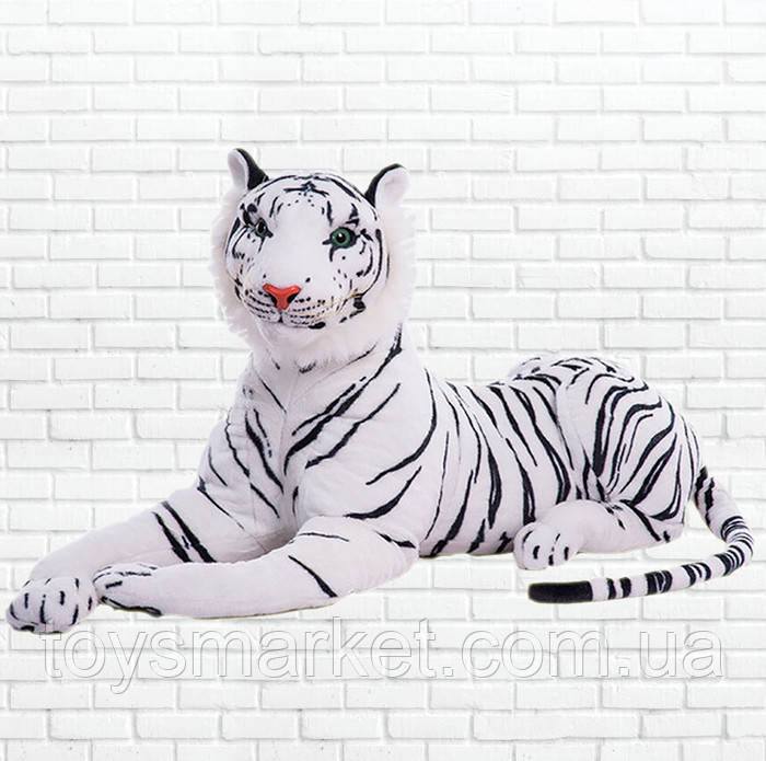 Детская мягкая игрушка,тигр,белый