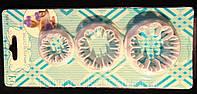Набор вырубок для мастики Гвоздика 3 шт, фото 1