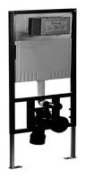 Инсталяция для подвесного унитаза с квадратной кнопкой