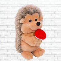Детская мягкая игрушка,Ёжик,с грибочком