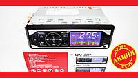 Автомагнитола Pioneer 3881 ISO - MP3 Player, FM, USB, SD, AUX сенсорная магнитола , фото 1