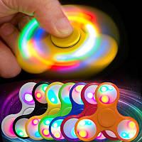 Спиннер!/Светящийся LED на 9 диодов/Fidget Spinner!/Антистресс