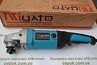 Кутова шліфмашина Miyato AG 180/1900FS,плавний пуск,поворотна ручка., фото 1