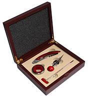 Набор сомелье винный Wine Profi Red 4 предмета в подарочном кейсе