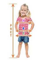 Розмірна сітка дитячого одягу різних країн