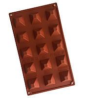 Форма силиконовая Мини Пирамида (15 порций) Pavoni