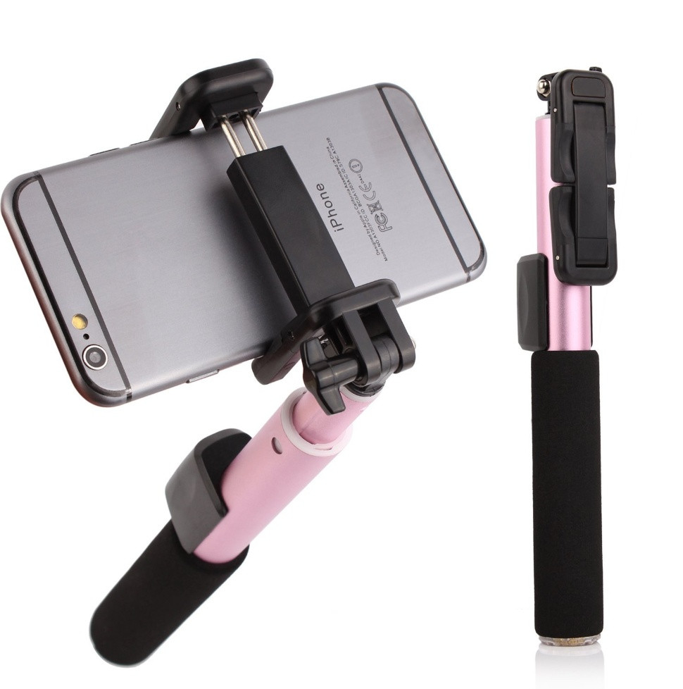 Монопод Remax Selfie Stick RP-P4 pink