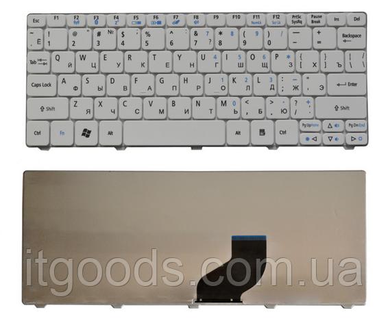 Клавиатура для нетбука Acer Aspire One 521 522 532 533 D255 D257 D260