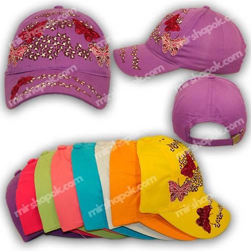 Детские кепки для девочек, H1752, р. 52