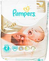 Підгузки Pampers Premium Care New Born Розмір 2 (Для новонароджених) 3-6 кг, 80 шт