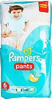 Трусики Pampers Pants Розмір 6 (Extra Large) 16+ кг,, 44 шт