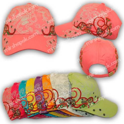 Детские кепки для девочек, H1754, р. 54