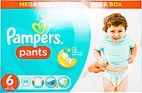 Трусики Pampers Pants Розмір 6 (Extra Large) 16+ кг,, 88 шт