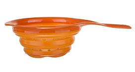 Дуршлаг силиконовый складной Camry CR 6712 orange