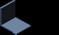 Уголок внутренний 90мм УВ-1