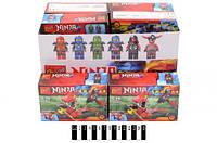Конструктор для мальчика ninja 164#-1-6  в упаковке 29,6*14,3*18,7 см