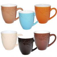 Набор 6 кружек Coloured Ceramics Branch 440мл