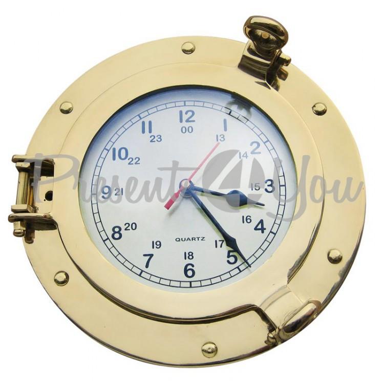 Морской сувенир часы Sea Club, d-23 cм (9222)
