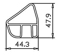 Алюминиевая мачта 44,3x47,9 АД31Т5