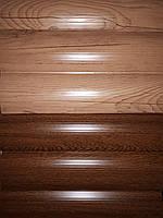 """Металевий сайдинг """"Блок-хауз"""" 0,43мм, фото 1"""