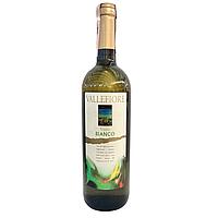 Вино Vallefiore Vino di Tavola Bianco біле сухе 0,75л