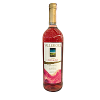 Вино Vallefiore Vino di Tavola Rose рожеве сухе 0,75л