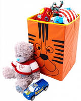 Детский ящик для хранения игрушек Тигр (большой), фото 1