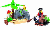 """Конструктор Brick """"Пиратская серия"""" 314 (95 дет.), фото 1"""