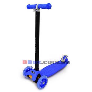 Самокат детский maxi scooter до 70 кг Синий