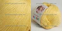 Пряжа Baby Wool Alize № 187св. желтый (еще +18 цветов)