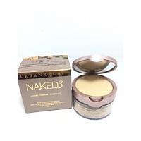 Компактная рассыпчатая пудра Naked3 для лица 2 in 1