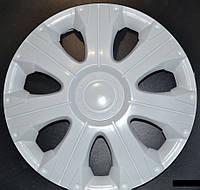 Колпаки на колеса R16 белые колпак K0243