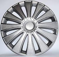 Колпаки на колеса R16 карбон колпак K0245