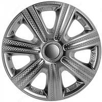 Колпаки на колеса R16 карбон колпак K0246