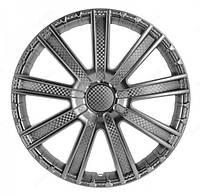 Колпаки на колеса R16 карбон колпак K0249
